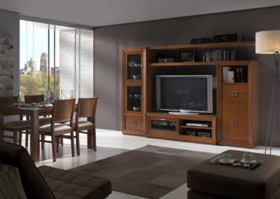 SC10 Salón modular apilable en chapa de madera, posibilidad de diferentes medidas y acabados.