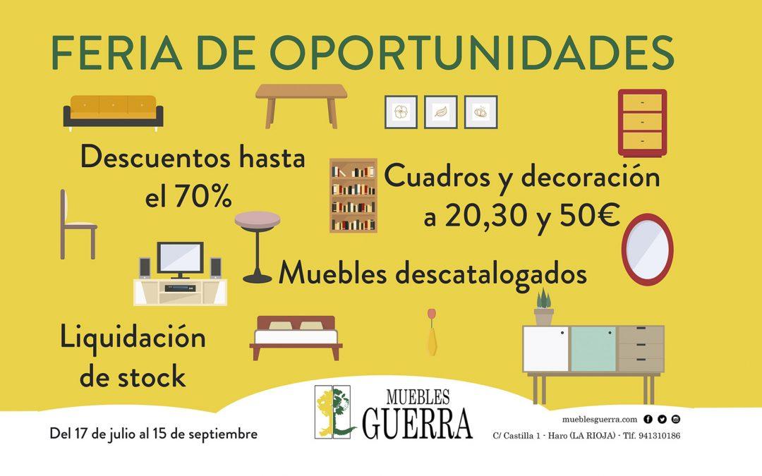 Feria de Oportunidades en Muebles Guerra